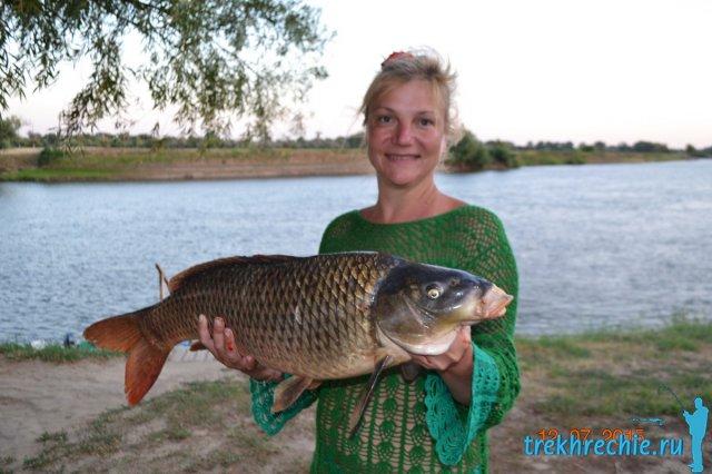 начало летней рыбалки