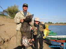 ловля белой рыбы на Ахтубе