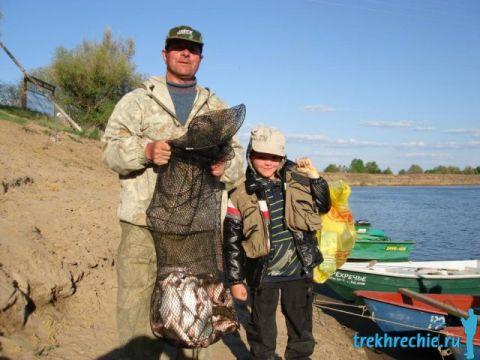 рыбалка в трехречье в апреле видео